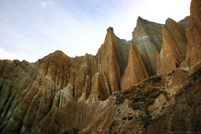 Clay Cliffs, NZ