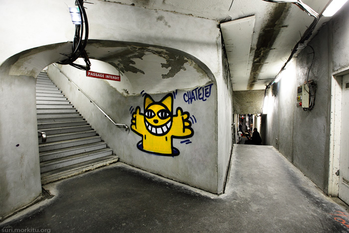 Mr Chat à Chatelet