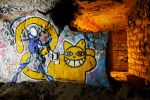 Fresque Psychose et Mr Chat : Psychat